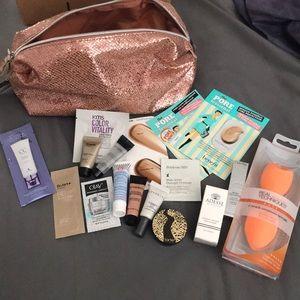 Other - Makeup bag bundle